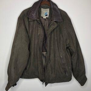 Rainforest | Men's Brown Removable Liner Jacket M